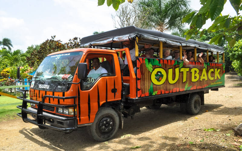 Outback Safari truck