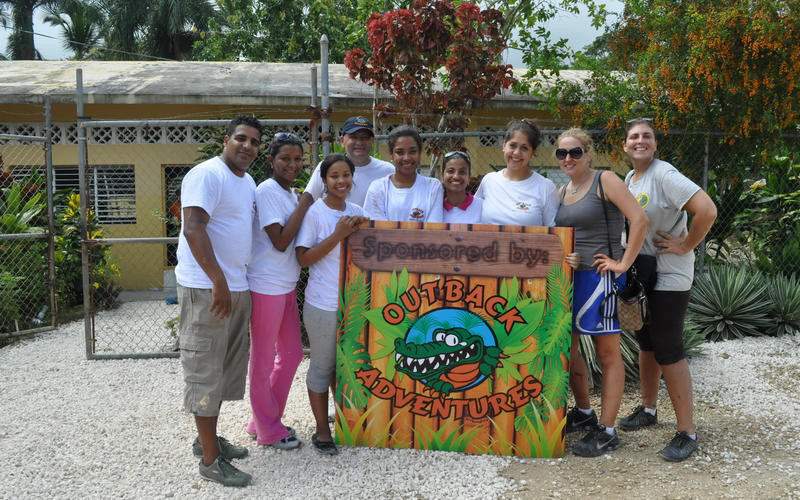 Outback Adventures Local Community Support - Dominican Republic