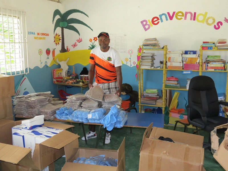 school uniform donation Puerto Plata
