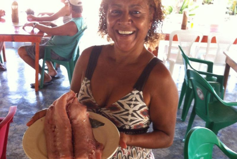 owner of seafood restaurant in Cabarete- Dominican Republic