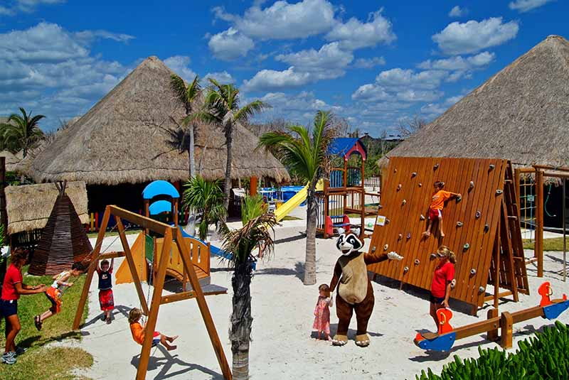 playground or kids club in hotel Punta Cana- Dominican Republic