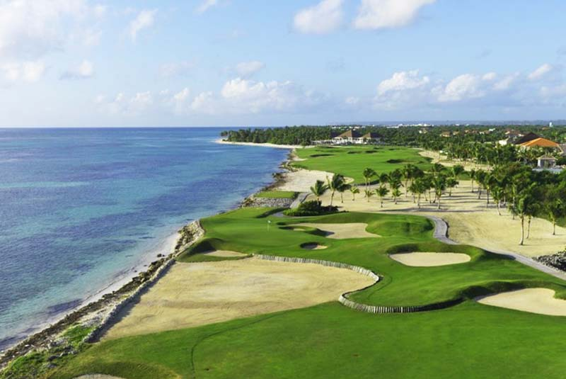 Golf Course la Espada in Punta Cana- Dominican Republic