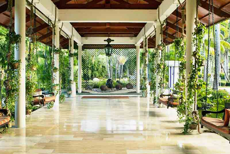 lobby area at Paradisus Punta Cana hotel - Dominican Republic