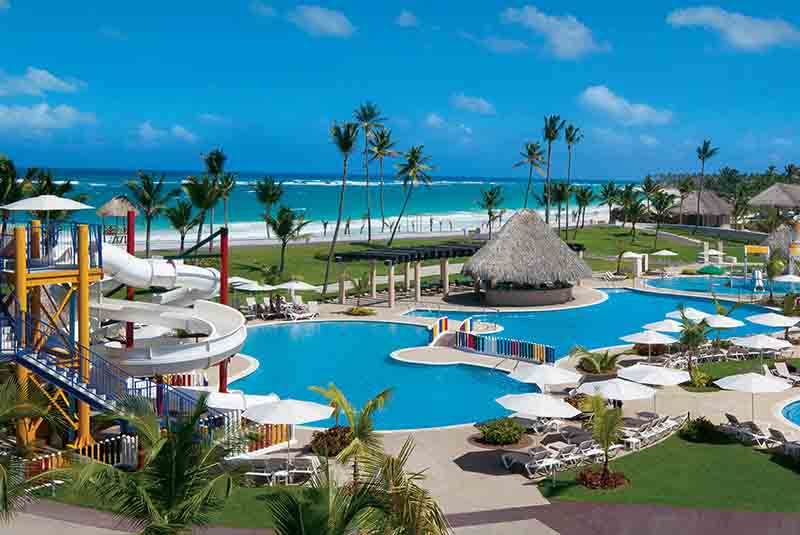 Hard Rock's Kids Pool area belongs to one of the best all inclusive hotels in Punta Cana - Dominican Republic