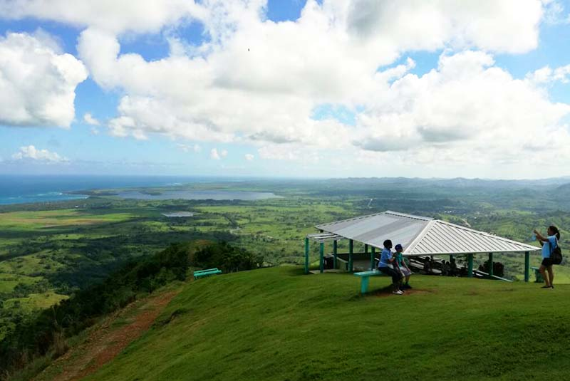 Restaurant on top of Mountain - Montaña Redonda - Dominican Republic