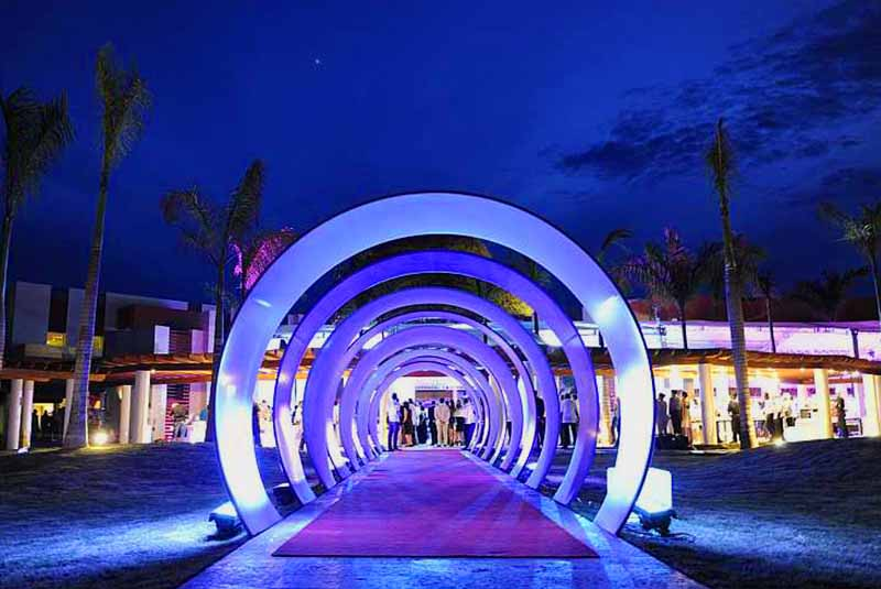 Entrance to hotels disco in Breathless Punta Cana - Dominican Republic
