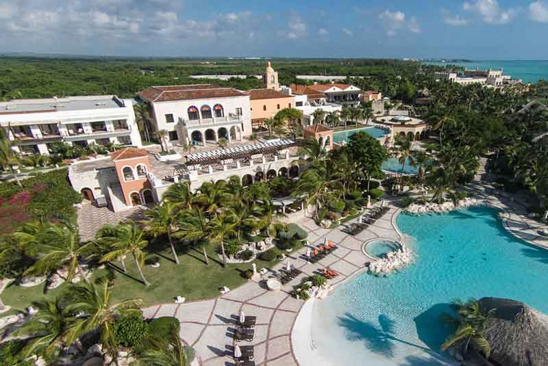 hotels pool view at Santuary Cap Cana hotel - Cap Cana