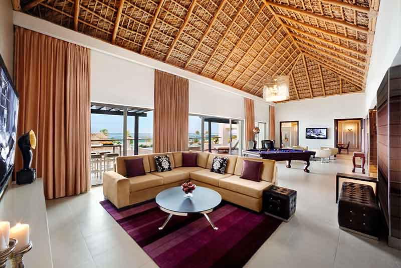 room view of family suite in Hard rock Punta Cana
