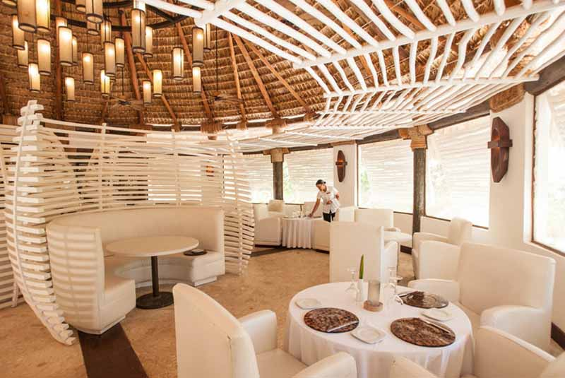 restaurant at Zoetry Agua hotel in Uvero Alto - Dominican Republic