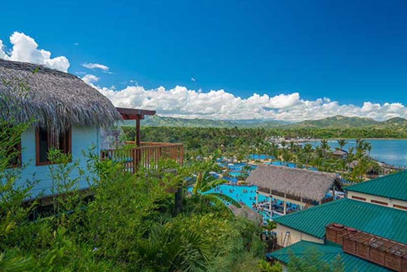 Cabaña overlooking Amber Cove complex in Dominican Republic