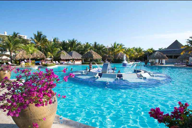 Pool area in Reserve at Paradisus Punta Cana - Dominican Republic