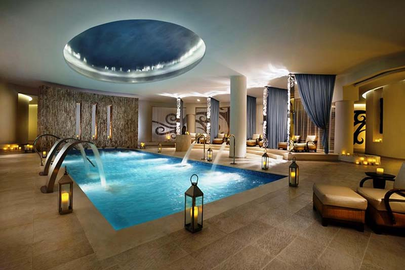 Spa area in Hard Rock Punta Cana- on top list of Punta Canas best hotels - Dominican Republic