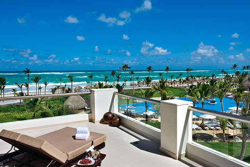 balcony view from Hard Rock Punta Cana suites
