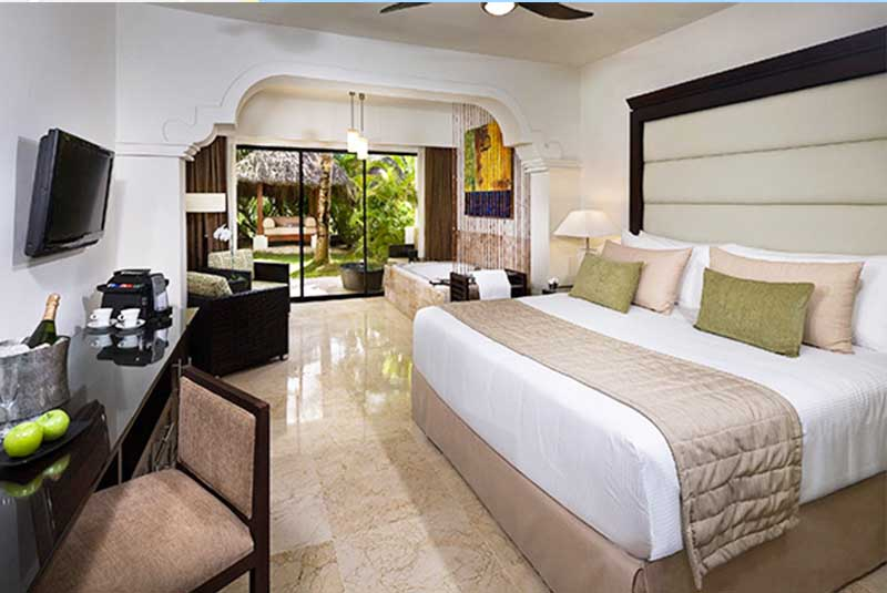 view of room in Level at Caribe Melia hotel in Bavaro - Punta Cana