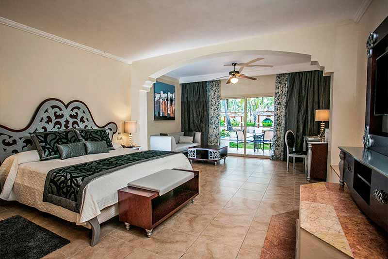 room of hotel Majestic Colonial in Punta Cana - Dominican Republic