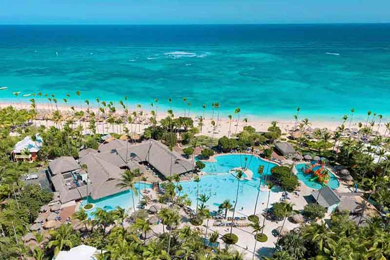 hotels beach front in Iberostar Bavaro Suites in Punta Cana - Dominican Republic