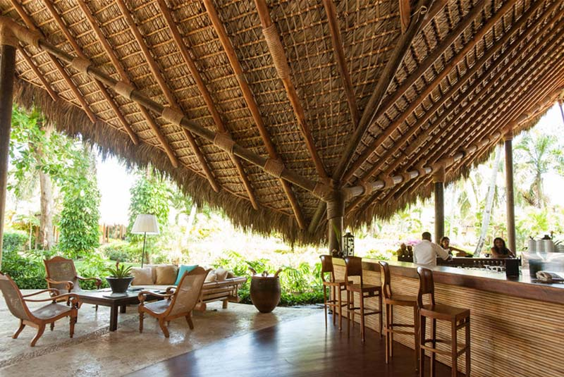 Bar in Zoetry Agua hotel in Uvero Alto - Dominican Republic