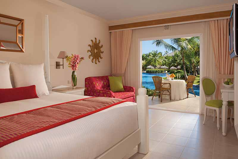 view of hotels room with garden view in Dreams Punta Cana - Dominican Republic