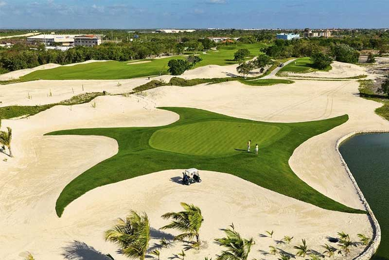 golf course in Iberostate Punta Cana - Dominican Republic