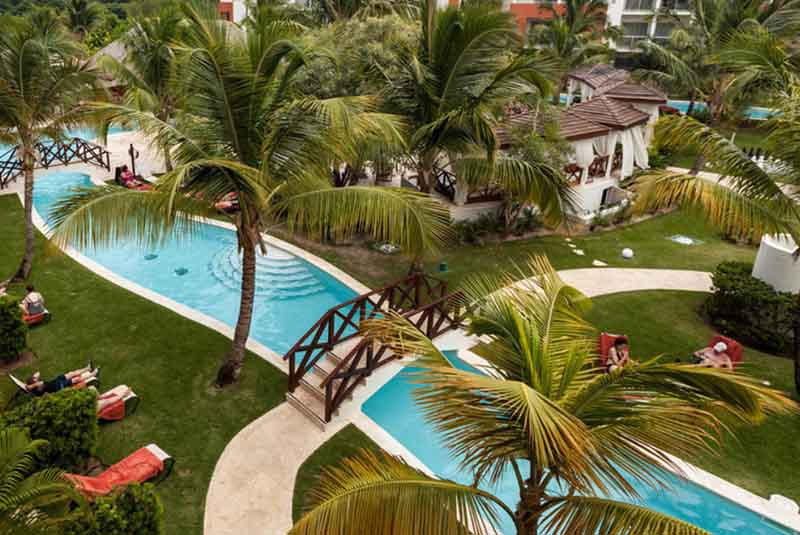 pool area in Now Garden hotel in Bavaro - Punta Cana