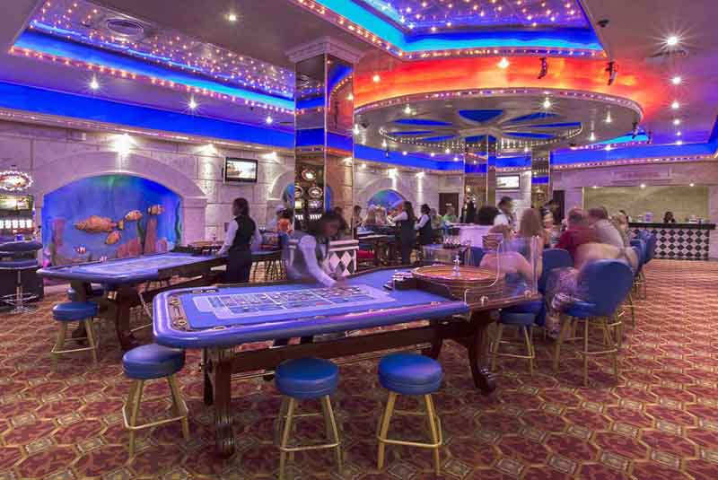 Casino in hotel Majestic Colonial in Punta Cana - Dominican Republic