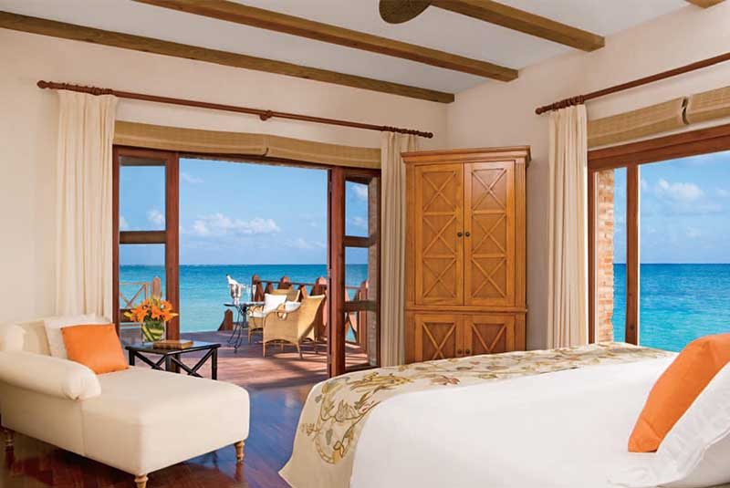 room with ocean view at Sanctuary hotel in Cap Cana