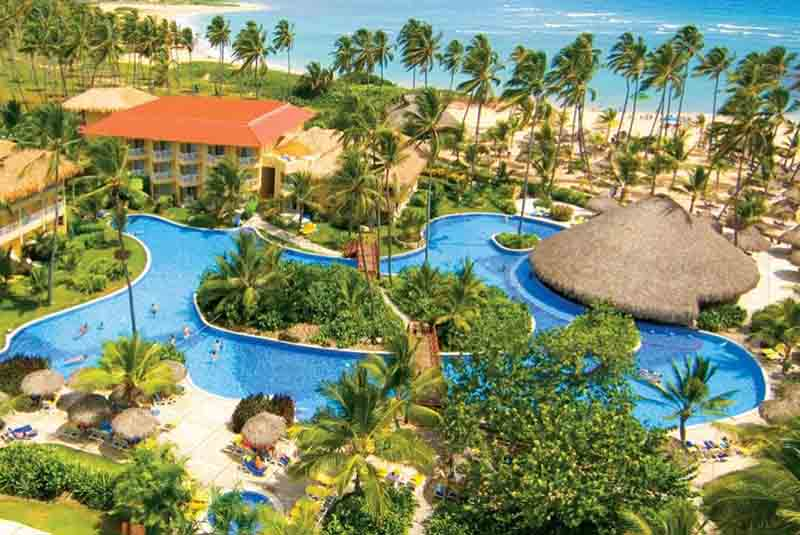 pool view from Dreams Punta Cana - Dominican Republic