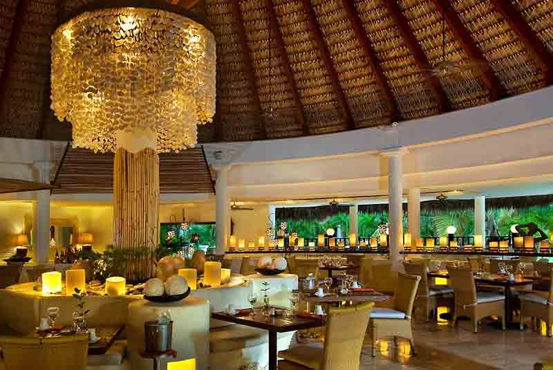 restaurant at Melia Caribe hotel in Punta Cana - Dominican republic