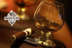 Cigars and Whiskey at Dominican Cigar Lounge in Puerto Plata - Dominican Republic
