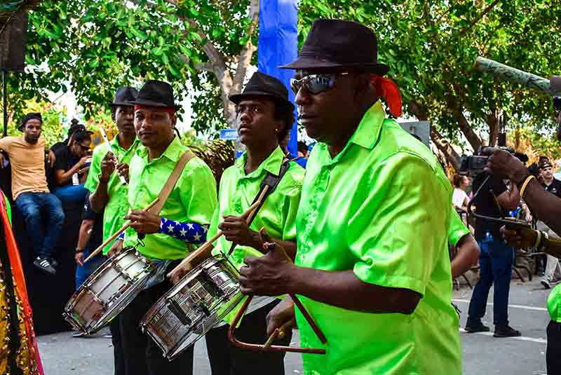 music band at Carnival in Punta Cana - Dominican Republic
