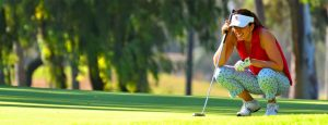 woman playing golf-Dominican Republic