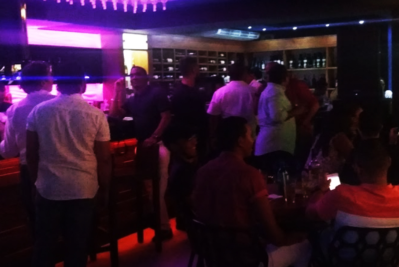 locals and travelers enjoying Tapas Bar in Puerto Plata