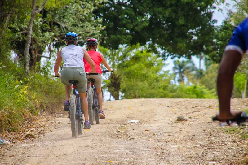mountain bike tours and private biking tours in Punta Cana, Dominican Republic