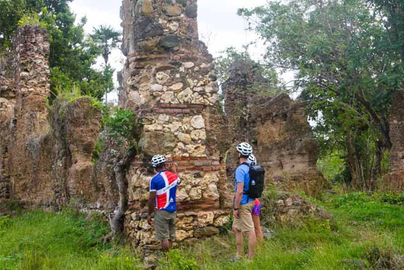 mountain biking in Higuey, Dominican Republic