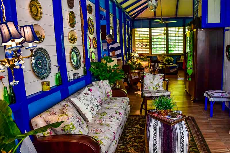 charming inside of Campito Loving's living and guest room - Punta Cana