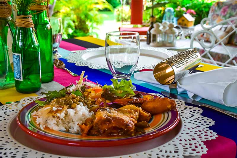 traditional Dominican food with the most authentic taste at Campito Loving in Punta Cana