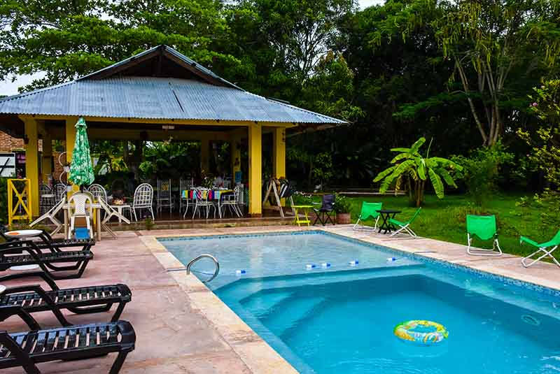 take a refreshing swim in the properties own swimming pool at Campito Loving near Punta Cana