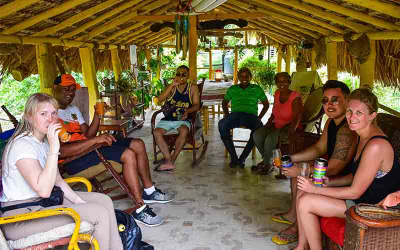 enjoy in small groups lunch with local family at farm house in Higuey - Dominican Republic