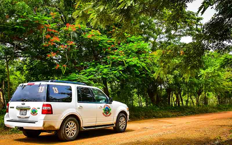 drive over countryside roads and off the beaten tracks in Higuey - Punta Cana