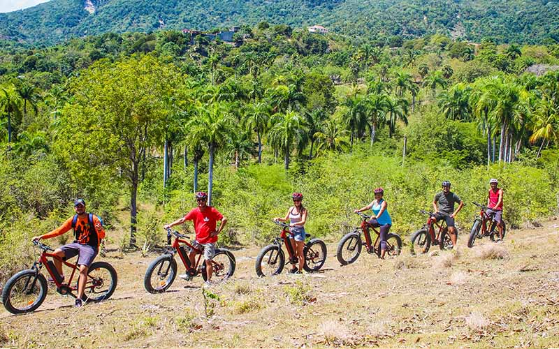 individual bike tours in Puerto Plata that can be privatized - Dominican Republic