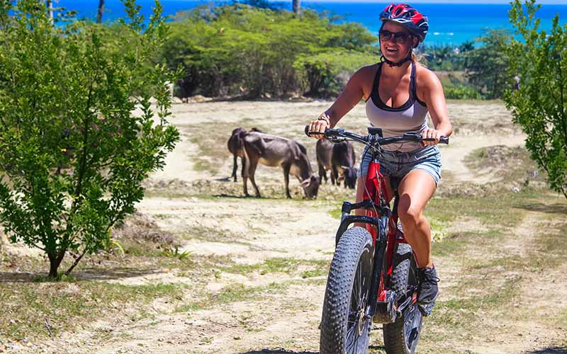 new Puerto Plata activity - electric bike tour - Dominican Republic