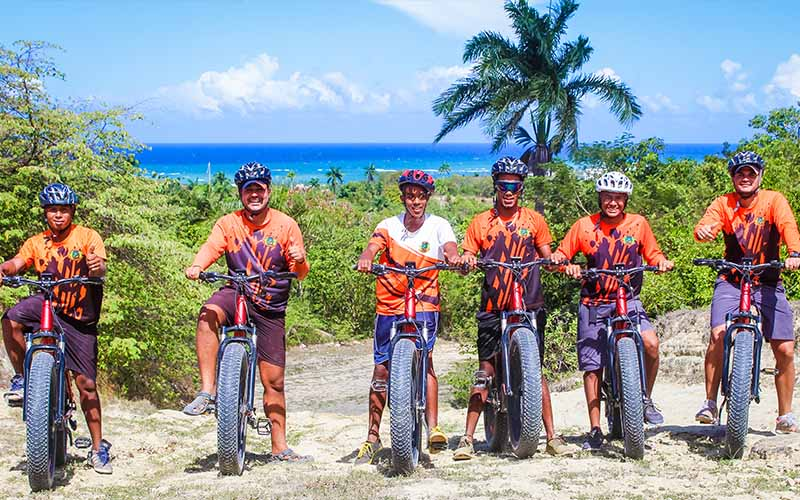 guided bike tours through the countryside of Puerto Plata - Dominican Republic