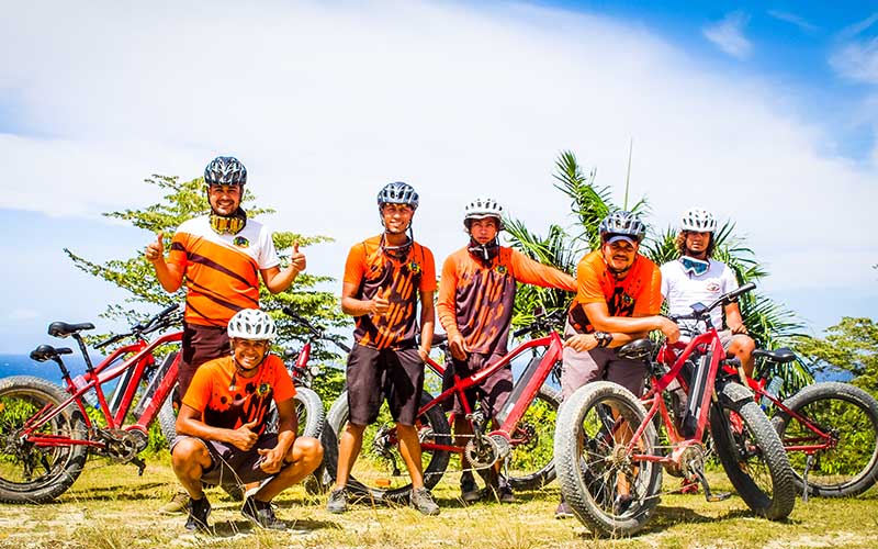 experienced guides are waiting to take you on a new Puerto Plata electric bike experience - Dominican Republic