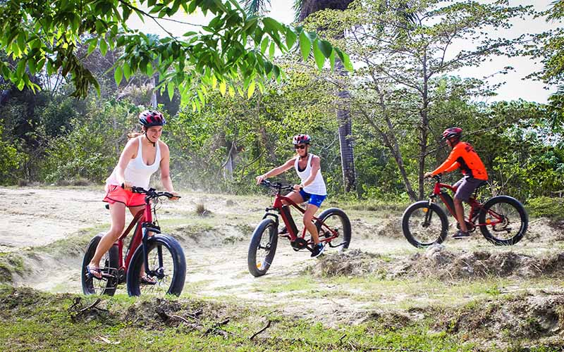 Puerto Plata bike tours with electric bikes for the whole family - Dominican Republic