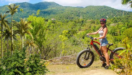 enjoy the great view over Puerto Plata's mountain range - Dominican Republic