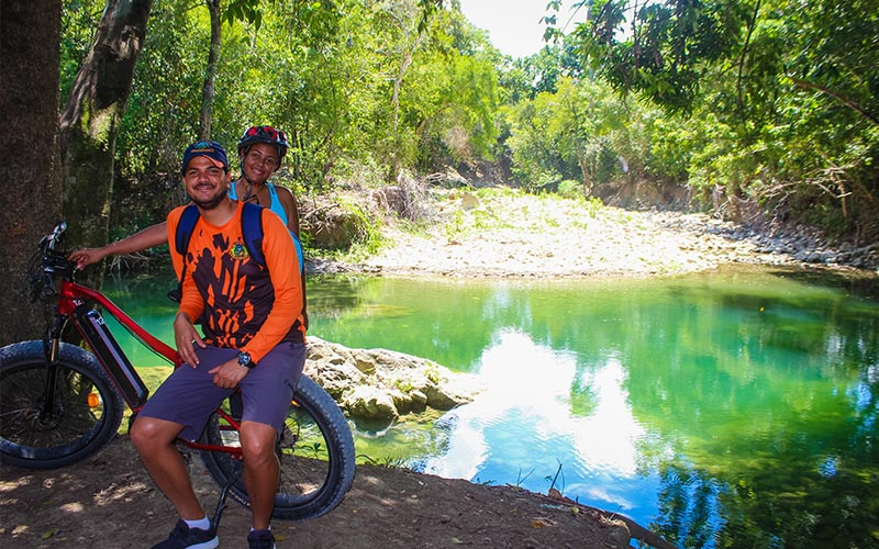 Bike tour to river Muñez near Puerto Plata - Dominican Republic