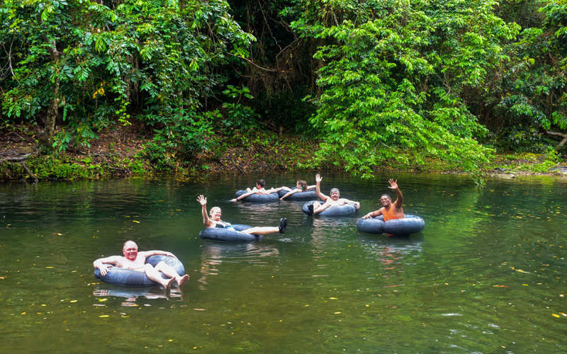 floating tubes-river anamuya-fun-Outback adventures-punta cana